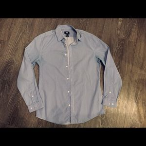 Men's Slim Fit H&M Casual Long Sleeve Button Up M